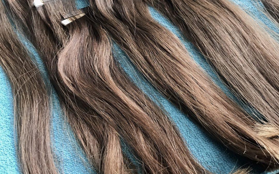 Poser ses extensions de cheveux